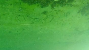 Sular çekildi, tarih ortaya çıktı