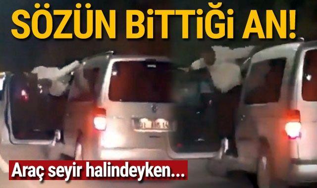 Adana'da hayret verici olay! Araç seyir halindeyken...