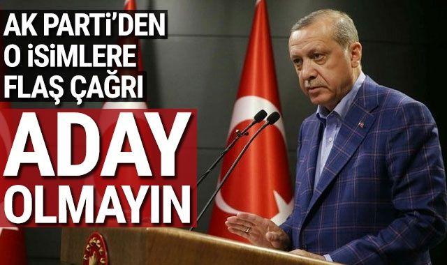 AK Parti'den, 3 dönem başkanlık yapan isimlere çağrı: Genel merkezi rahatlatın