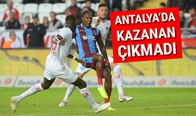 ANTALYA TRABZON Özeti GOLLERİ İZLE: Antalyaspor Trabzonspor MAÇI Kaç Kaç Bitti? Maç ÖZETİ VE GOLLERİ