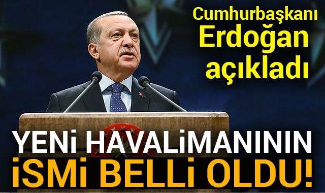 Cumhurbaşkanı Erdoğan 'İstanbul Havalimanı'nı açtı!