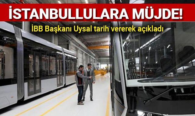 İstanbullulara müjde! İBB Başkanı Uysal tarih vererek açıkladı