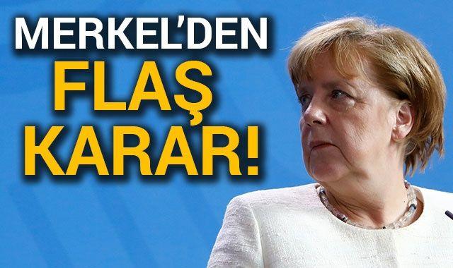Almanya Başbakanı Merkel: 2021 yılında başbakan adayı olmayacağım