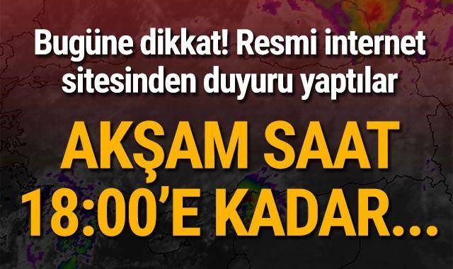Meteoroloji'den son dakika sağanak yağmur uyarısı! İstanbul, Marmara 22 Ekim hava durumu