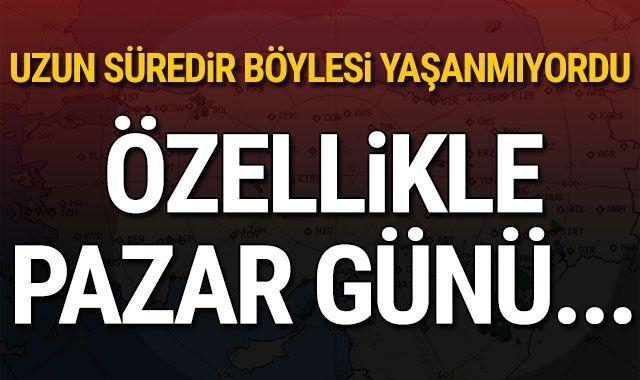 Meteoroloji'den son dakika yağmur uyarısı! İstanbul hafta sonu hava durumu (19-20-21 Ekim hava durumu nasıl?)