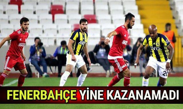 ÖZET İZLE: Sivasspor 0-0 Fenerbahçe MAÇI ÖZETİ İZLE! Kaç kaç Bitti?   SİVAS FB Maçı Özeti