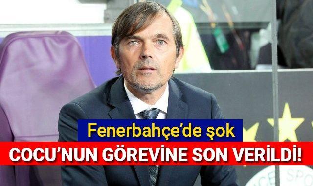 Son Dakika: Fenerbahçe'de Phillip Cocu'nun görevine son verildi
