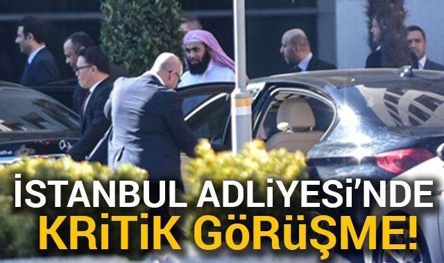Suudi Başsavcısı İstanbul Adliyesinden ayrıldı