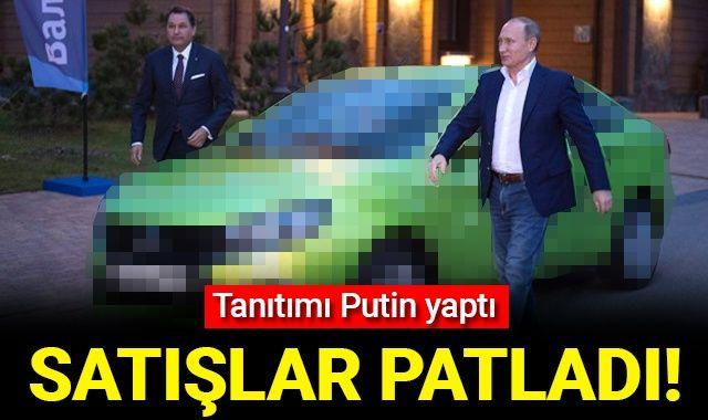 Tanıtımı Putin yaptı, satışlar patladı!