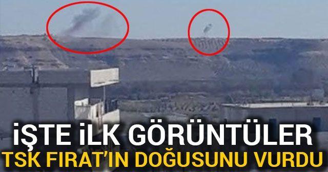 TSK, Suriye'deki terör örgütü YPG/PKK'nın mevzilerini bombalıyor