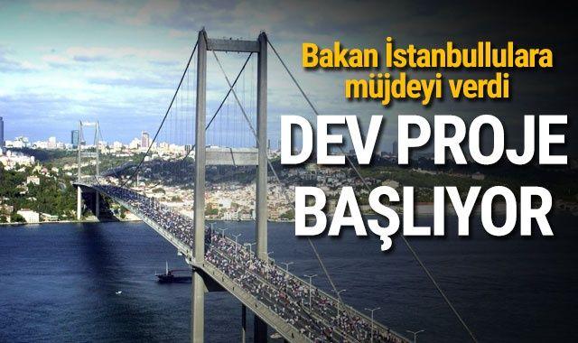 Ulaştırma Bakanı Turhan: Yakında dev bir projeye başlayacağız