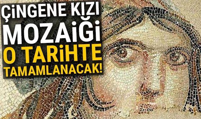 ABD'deki Çingene kızı mozaiği 26 Kasım'da Türkiye'ye gelecek