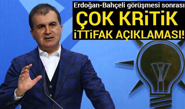 AK Parti Sözcüsü Çelik: Yerel seçimdeki iş birliğiyle ilgili son derece olumlu noktadayız