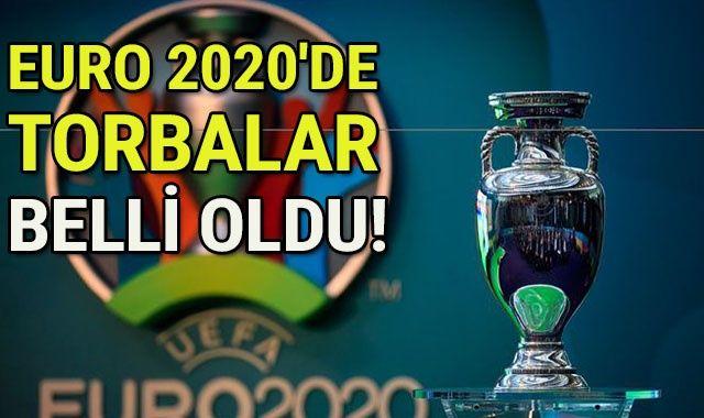 EURO 2020'de torbalar belli oldu!