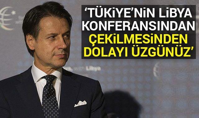 İtalya Başbakanı Conte: Türkiye'nin Libya Konferansı'ndan çekilmesinden dolayı üzgünüz
