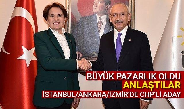 CHP ile İyi Parti ittifakta anlaştı