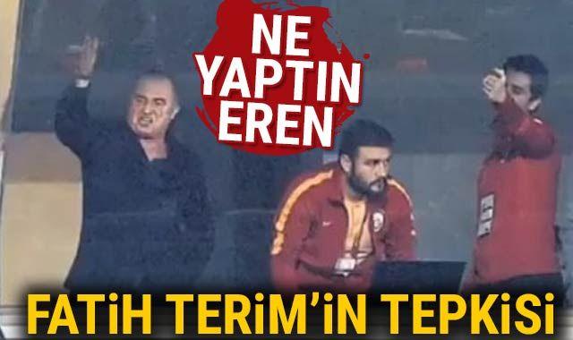 Fatih Terim'in kaçan pozisyonlara tepkisi
