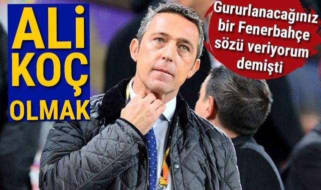 Fenerbahçe'ye Ali Koç yaramadı!