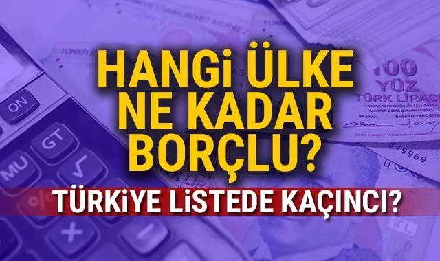 Liste belli oldu! Hangi ülke ne kadar borçlu?