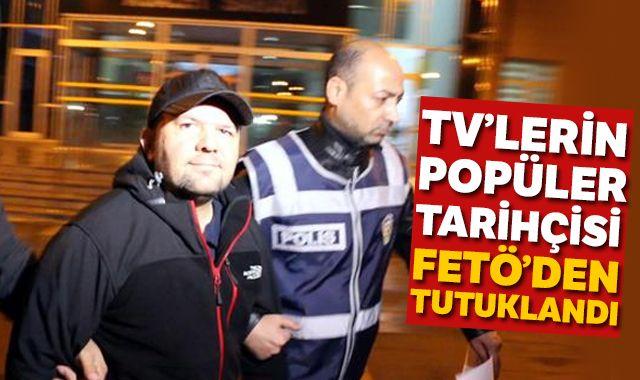 Tarihçi Talha Uğurluel tutuklandı