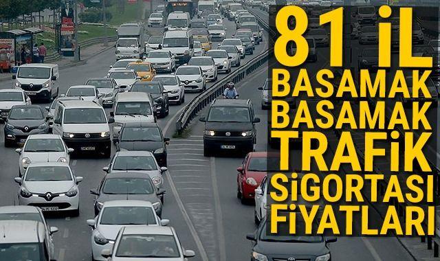 Trafik sigortası 2019 fiyatları belli oldu! İşte il il trafik sigortası primleri