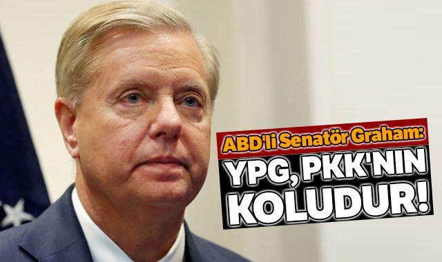 ABD'li senatör Graham'dan YPG açıklaması
