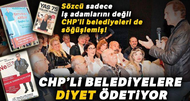 Kitabıyla CHP'li belediyelere diyet ödetiyor
