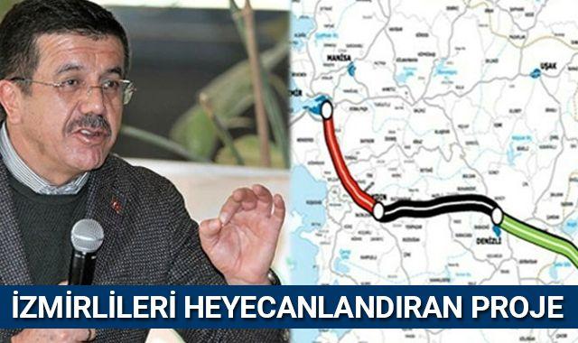 Nihat Zeybekçi açıkladı! İzmirlileri heyecanlandıran proje