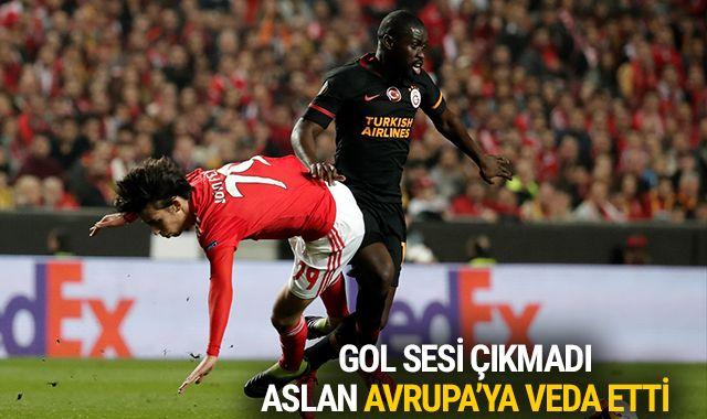 Portekiz'de sessiz gece! Aslan da havlu attı   Benfica 0-0 Galatasaray