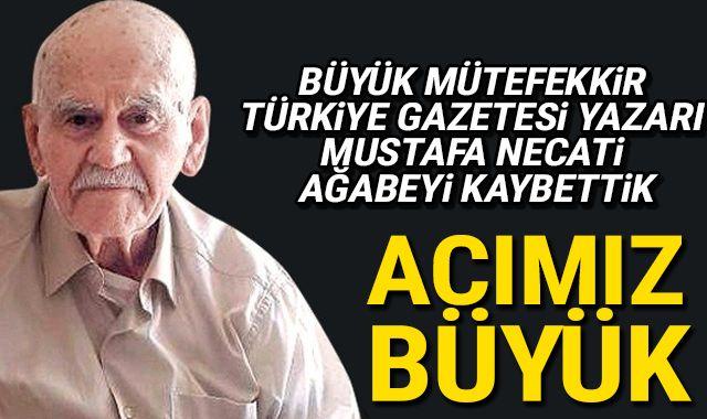 Mustafa Necati Özfatura vefat etti ile ilgili görsel sonucu