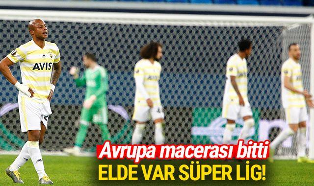 Fenerbahçe'nin Avrupa macerası sona erdi