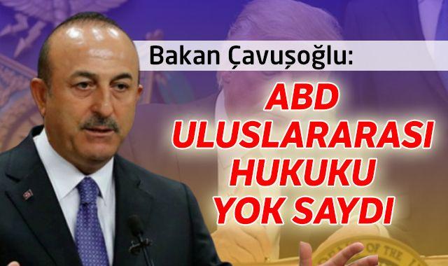 ABD Başkanı Trump'ın skandal kararnamesine Türkiye'den ilk tepki!