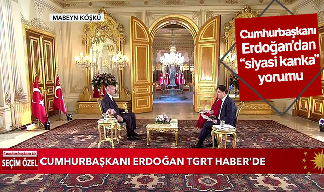 """Cumhurbaşkanı Erdoğan'dan """"siyasi kanka"""" açıklaması"""