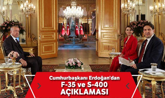 Cumhurbaşkanı Erdoğan: 'S-400'le ilgili geri adım söz konusu değil'