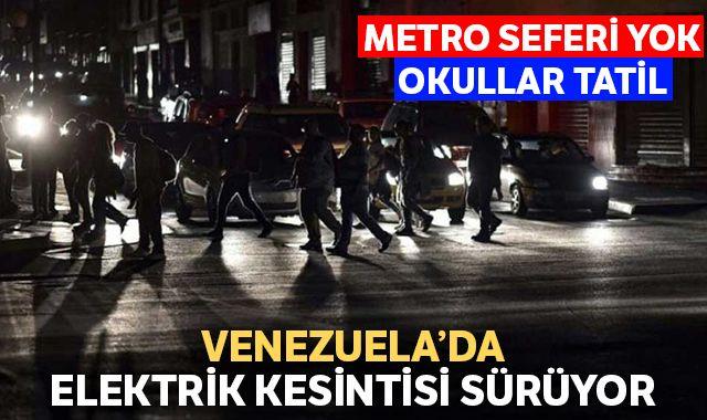 Venezuela'da hayat durdu! Maduro okulları ve devlet kurumlarını kapattırdı