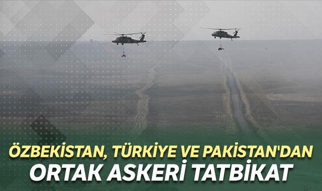 Özbekistan, Türkiye ve Pakistan'dan ortak askeri tatbikat