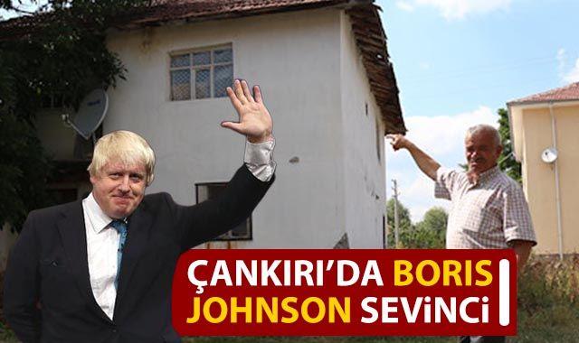 Boris Johnson'ın Çankırı'daki hemşehrileri sevinçli