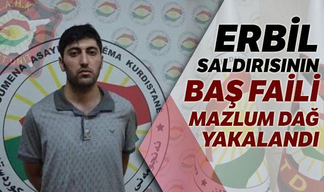 Erbil'de Türk diplomatı şehit eden terörist yakalandı