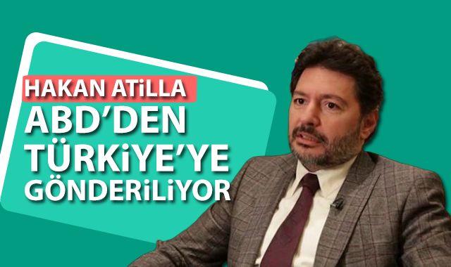 Hakan Atilla Türkiye'ye gönderilmek üzere havalimanına transfer edildi