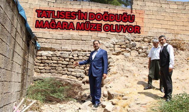 İbrahim Tatlıses'in doğduğu mağara müze oluyor