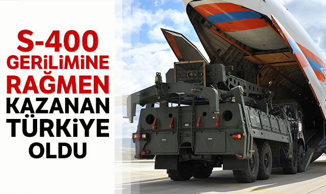 S-400 gerilimine rağmen ticarette kazanan Türkiye oldu