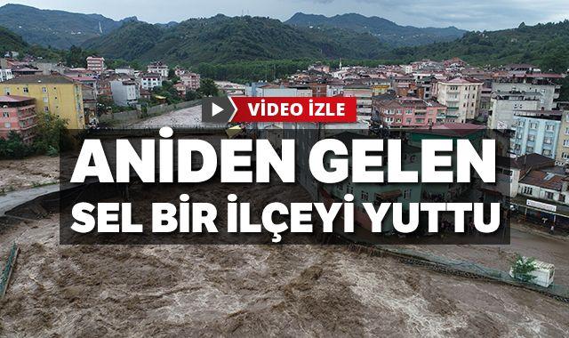 Samsun'daki selde hayatını kaybedenlerin sayısı 2'ye yükseldi