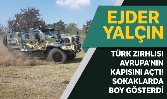 Türk zırhlısı Avrupa'nın kapısını açtı