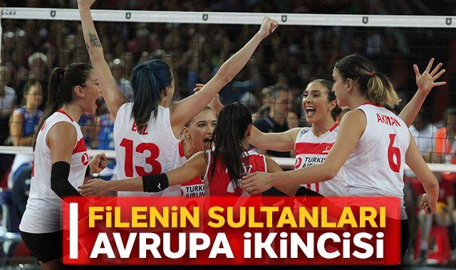 Filenin Sultanları Avrupa Şampiyonası'nda ikinci oldu