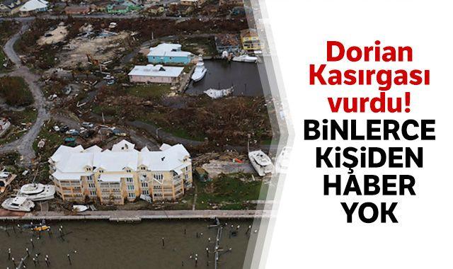 Kasırganın vurduğu Bahamalar'da 2 bin 500 kişiden haber alınamıyor