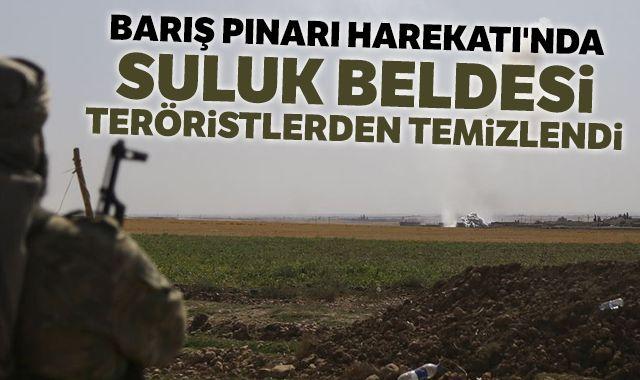 Barış Pınarı Harekatı'nda Suluk beldesi teröristlerden temizlendi