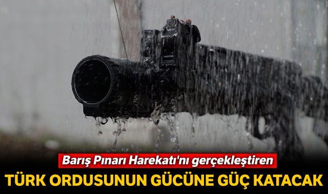 Barış Pınarı Harekatı'nı gerçekleştiren Türk Silahlı Kuvvetleri envanterine Yerli 'bomba atar'
