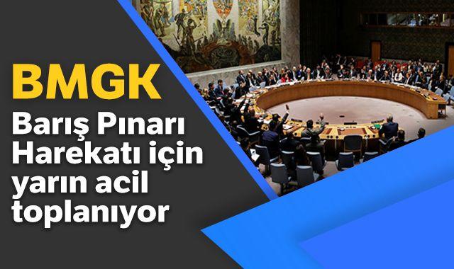 BMGK, Barış Pınarı Harekatı için yarın acil toplanıyor