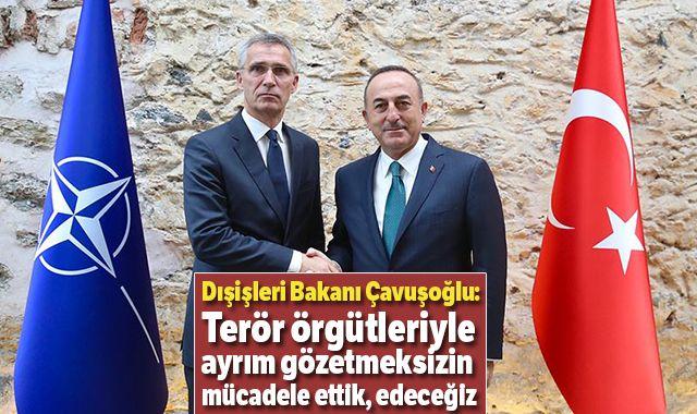 Dışişleri Bakanı Çavuşoğlu: Terör örgütleriyle ayrım gözetmeksizin mücadele ettik, edeceğiz