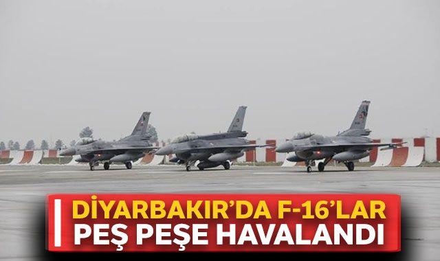 Diyarbakır'da hava hareketliliği başladı